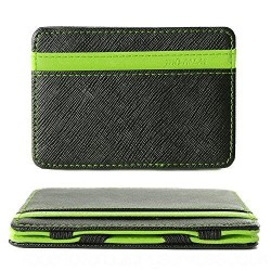Slim Minimalist Wallet Green