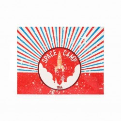 Slim Wallet - Space Camp